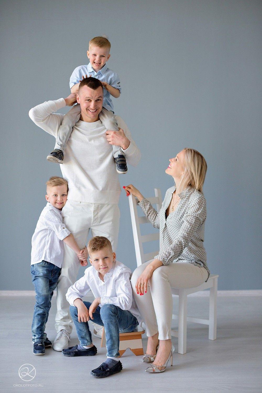 Семейная фотосессия в студии   Фотосессия на дому   Настя ...