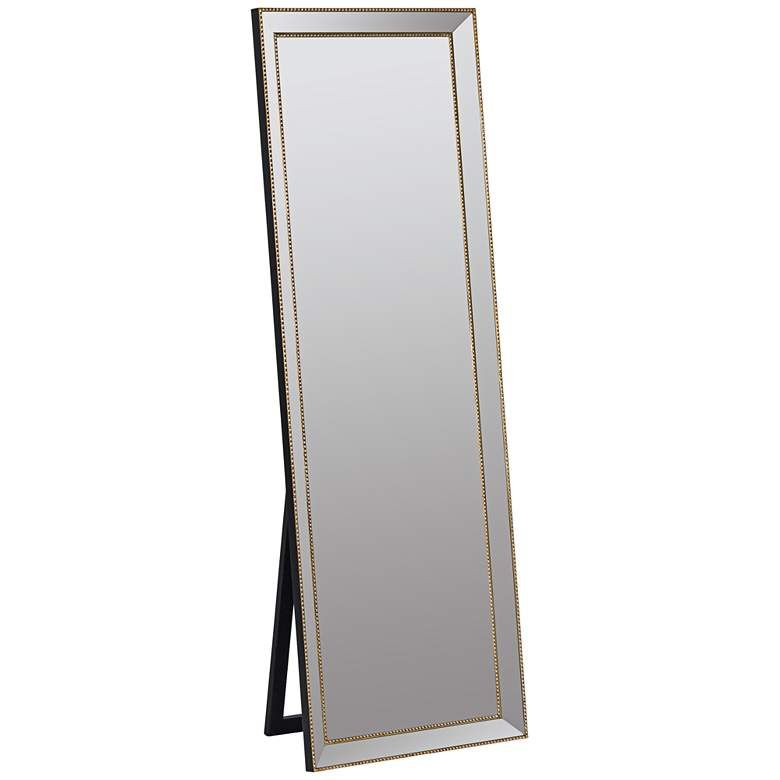 Kyson Gold Metal 24 X 68 Full Length Floor Mirror 1h380