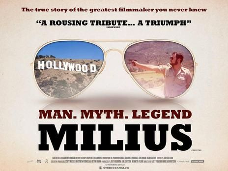 Image result for Milius documentary