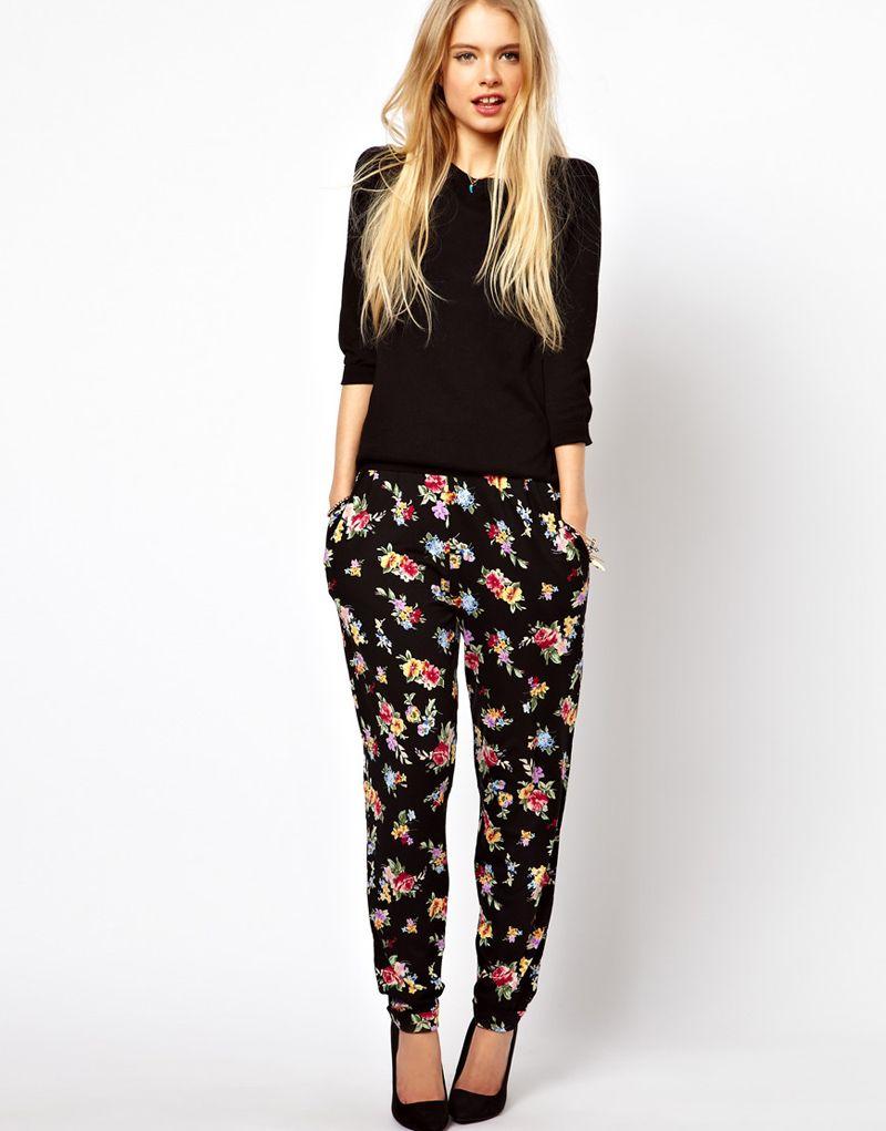 Pantalones estampados, must have para primavera-verano 2013 | ¡Encuérate a  la Moda