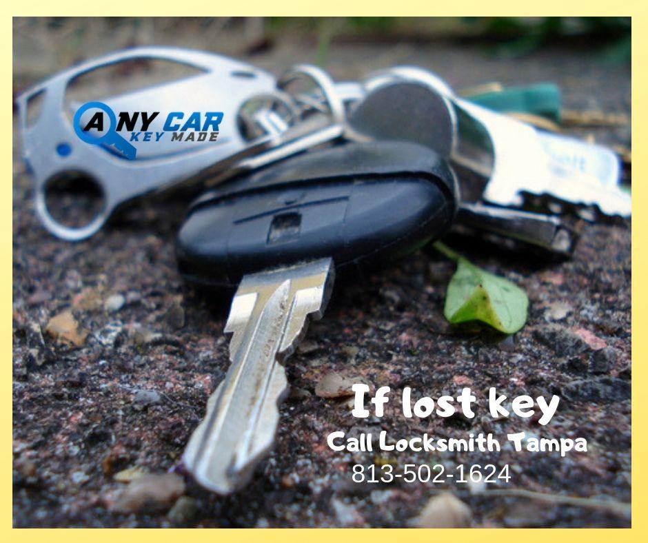 Tampa Automotive & Car Locksmith Services Lost car keys