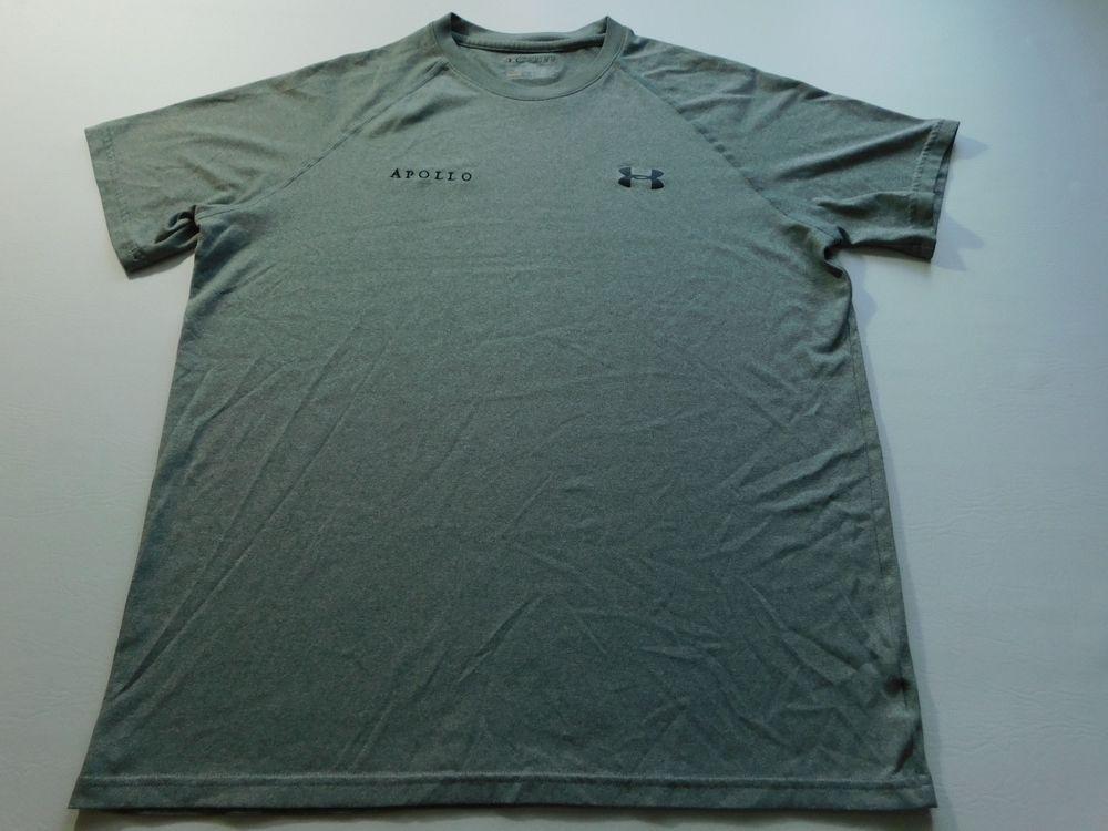 Under Armour Mens T Shirt Size Medium M Short Sleeve Fitness UA Performance Gym #UnderArmour #FitnessTee