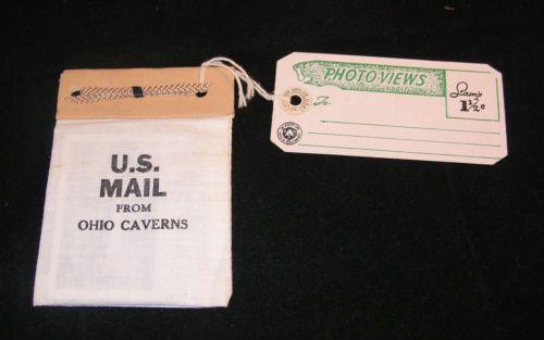 Vintage Souvenir Ohio Caverns West Liberty Mail Pouch Post Cards | eBay