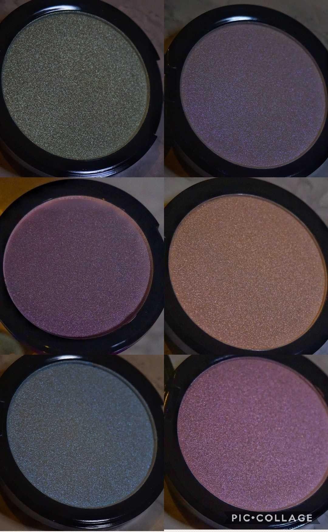 New MUA (Makeup Academy) Prism highlighter shades