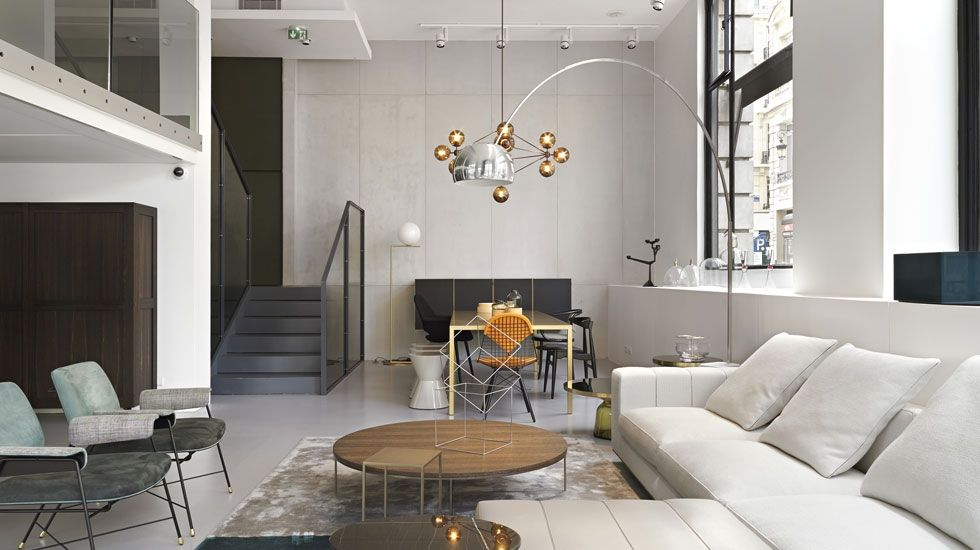 L Enseigne Phare Du Design A Paris Ouvre Une Ambassade Rive Gauche Sur Trois Niveaux Silvera 43 Rue Du Bac 75007 Paris Design Furniture Design Interior