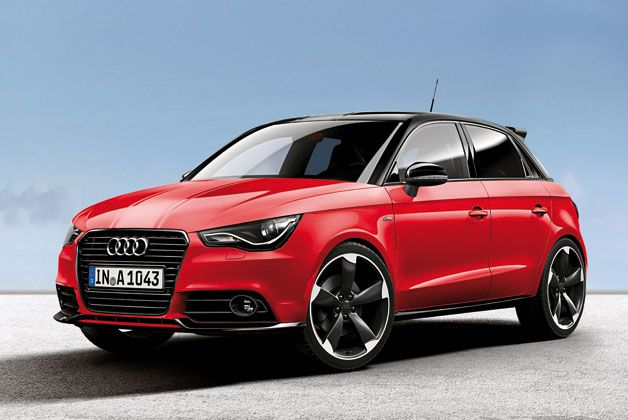 Audi Unveils A1 In Exclusive Red And White Flavors Audi A1 Audi A1 Sportback Audi