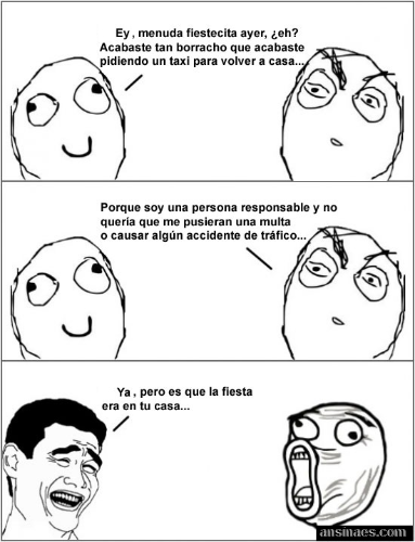 Que Fiesta La De Anoche Memes Humor Funny