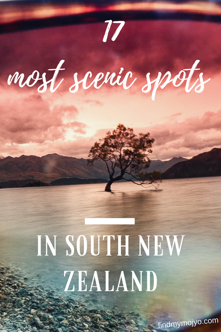 The scenery & panoramas of South New Zealand are seriously epic! Here are 17 scenic spots to inspire your travels!