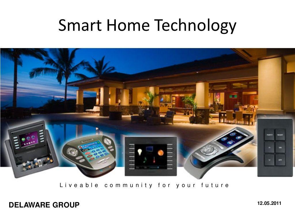 Smart Home Technologies By Loggcity Via Slideshare Smart Home