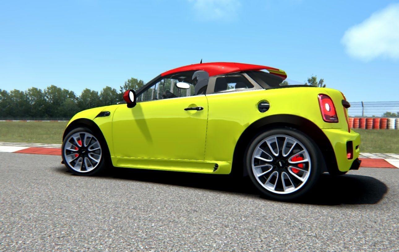Assetto Corsa Mini Jcw Coupe Nurburgring Sprint Coupe Mini Sprinting