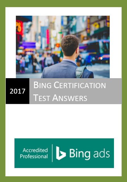 Bing ads accredited professional exam answers 2017 certification bing ads accredited professional exam answers 2017 fandeluxe Choice Image