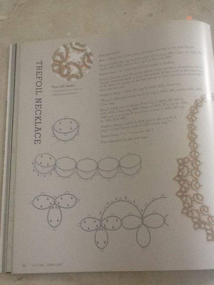 Tatting Jewellery - Lyn Morton