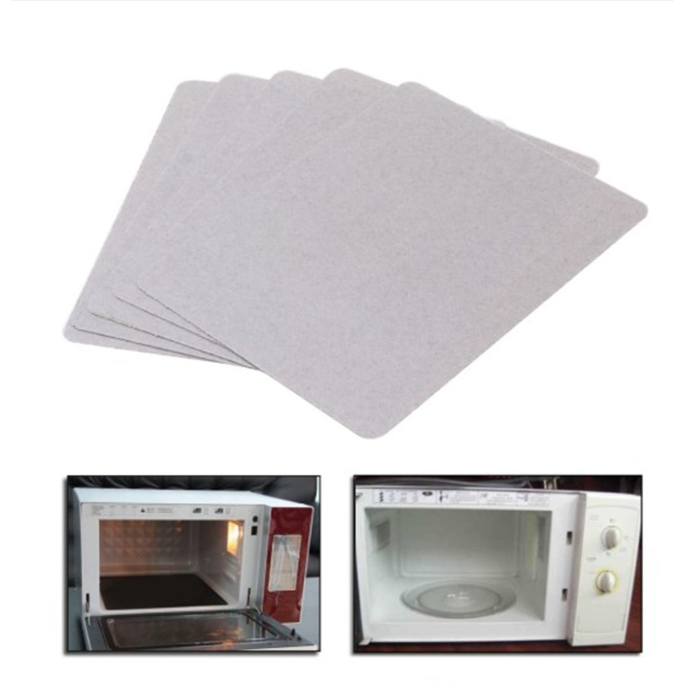 12x12cm 4 7x4 7inch Microwave Oven Mica Plates Repairing Part Heat Resistance