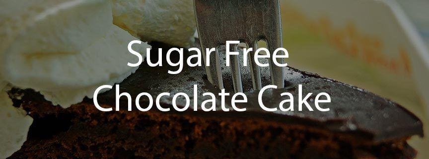 Chocolate Cake with Lite & Sweet