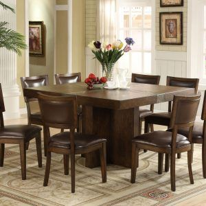 Square Dining Room Table For 8 Plans  Httpbehoovenpress Amazing Square Dining Room Table Inspiration Design