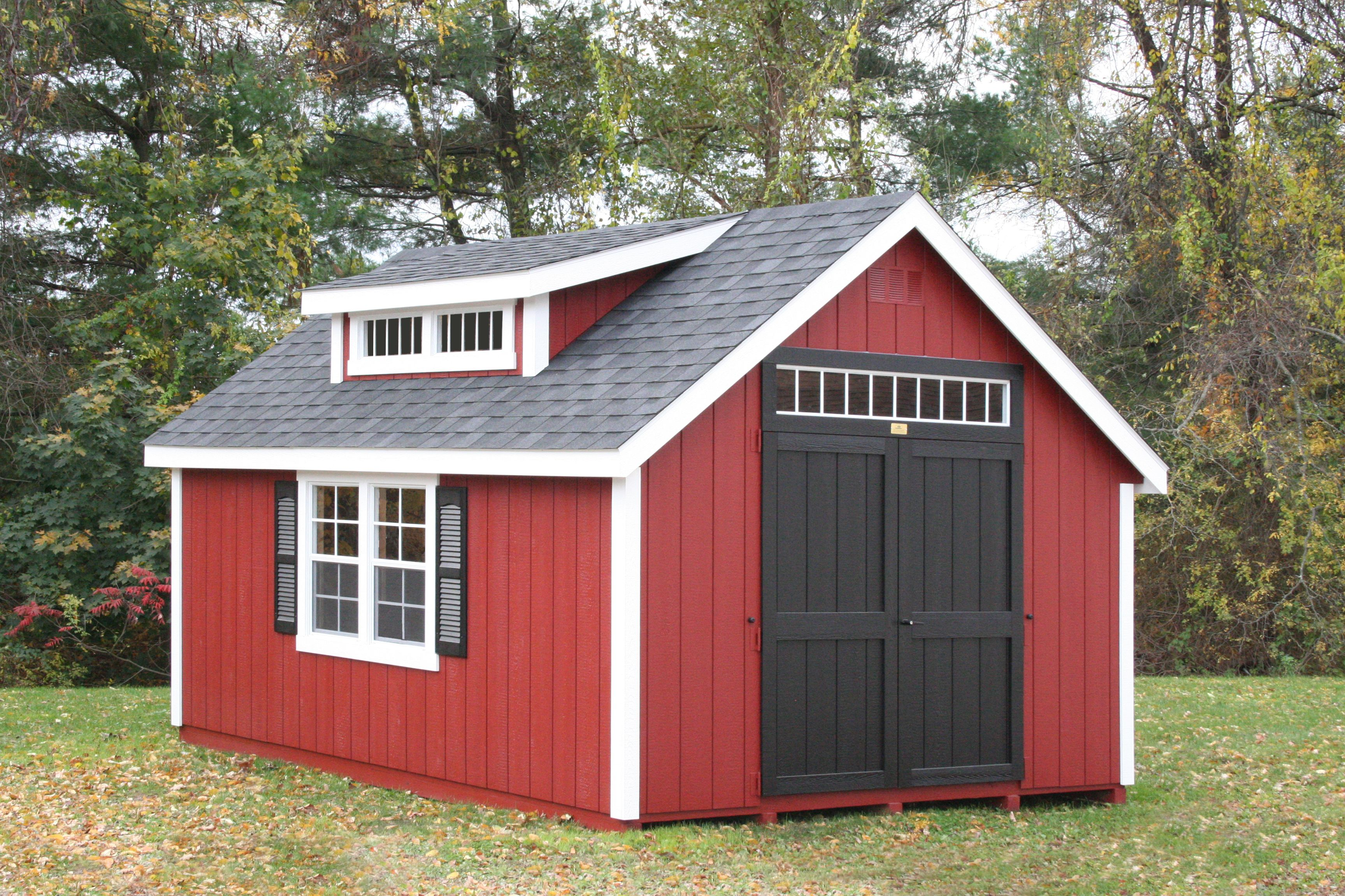 Adding A Mini Shed Dormer With Transom Windows To Our New England Colonial Has Been A Popular Option For Many Of Our Customers Shed Shed Design Mini Shed