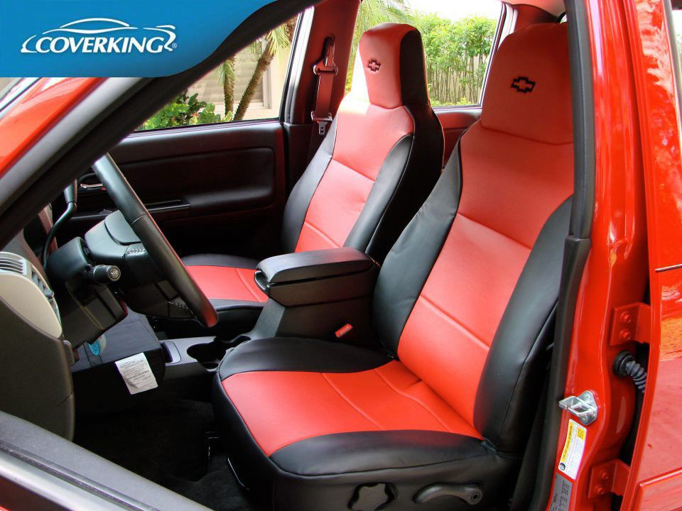 Coverking Premium Leatherette Custom Fit Front Seat Covers