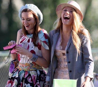 Blair and Serena - Gossip Girl