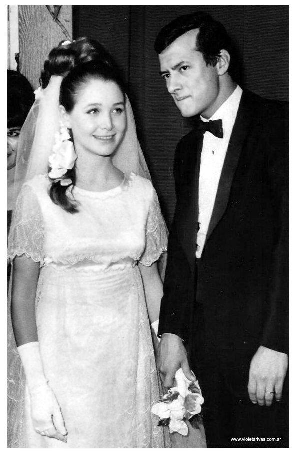 palito ortega y evangelina zalazar.y su boda 2 de marzo de 1967