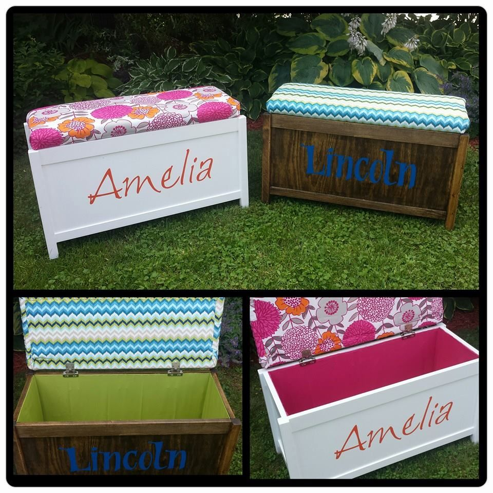 Upholstered Toy Chest Do It Yourself Home Projects from