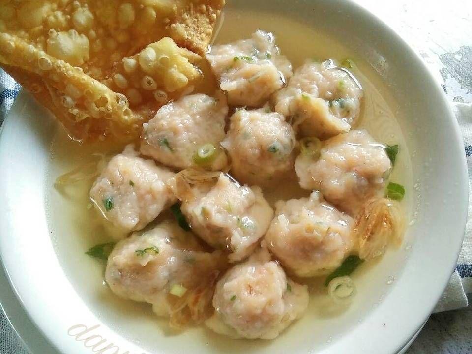 Resep Bakso Udang Cuanki Udang Pr Olahanudang Oleh Dapurvy Resep Makanan Dan Minuman Resep Resep Masakan Asia