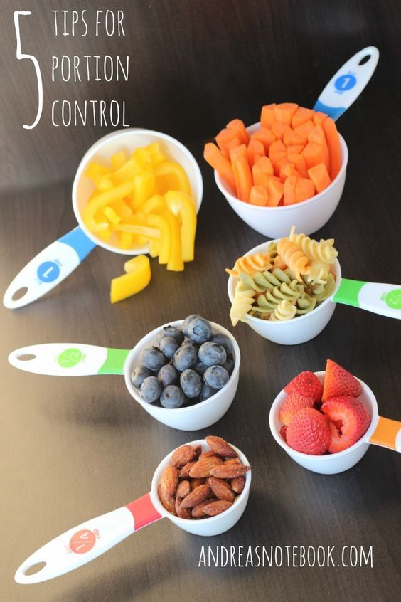 41b5139d5c09a9 When it comes to losing weight or even maintaining a healthy weight portion  control is one