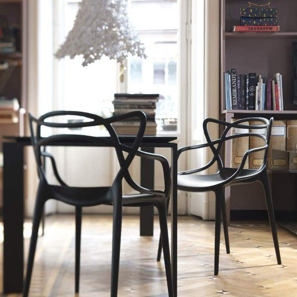Chaise Kartell Masters Blanche | Search And Masters