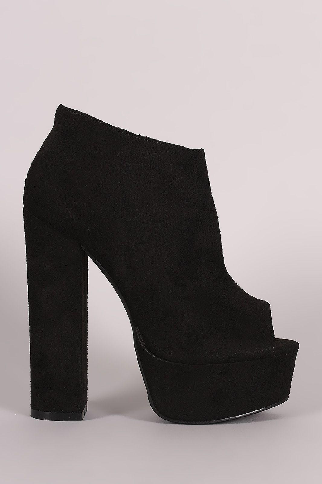 14f432824a7 Liliana Peep Toe Booties