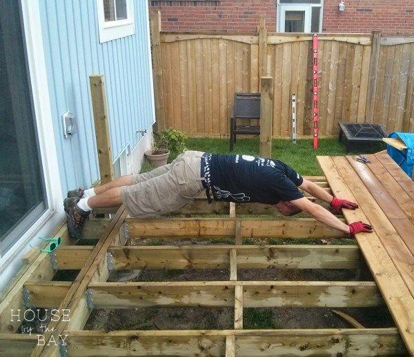 Deck Building Tips Building A Deck Building A Floating Deck Deck Building Plans
