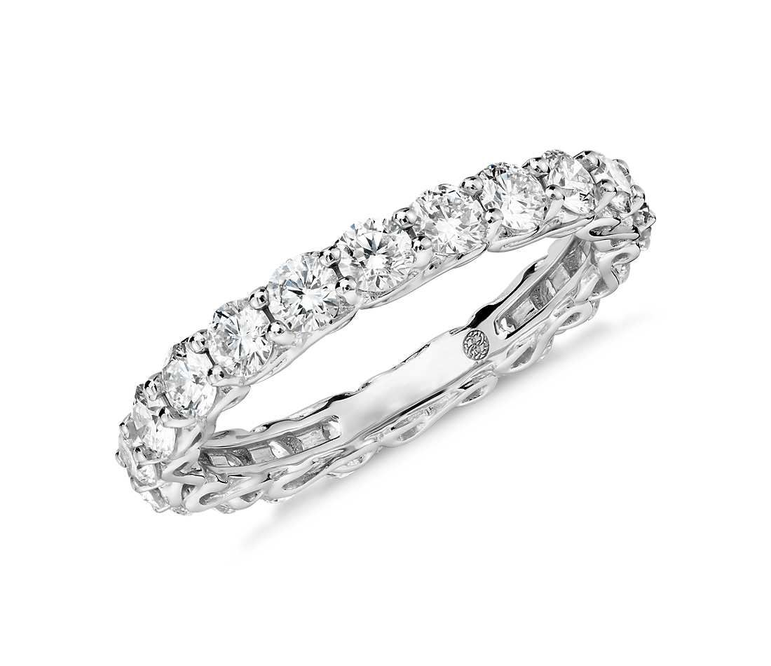 Colin Cowie Infinity Diamond Eternity Ring in Platinum (2 ct. tw ...