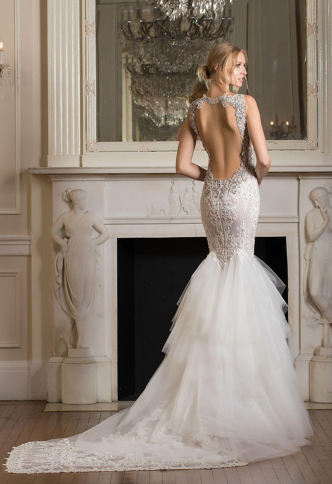 Style dimension collection back view wedding ideas