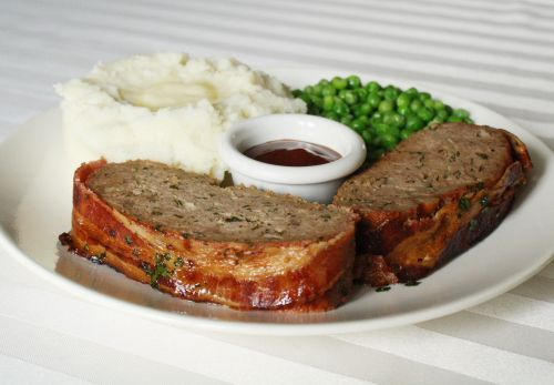 Bacon Wrapped Venison Meatloaf Venison Recipes Deer