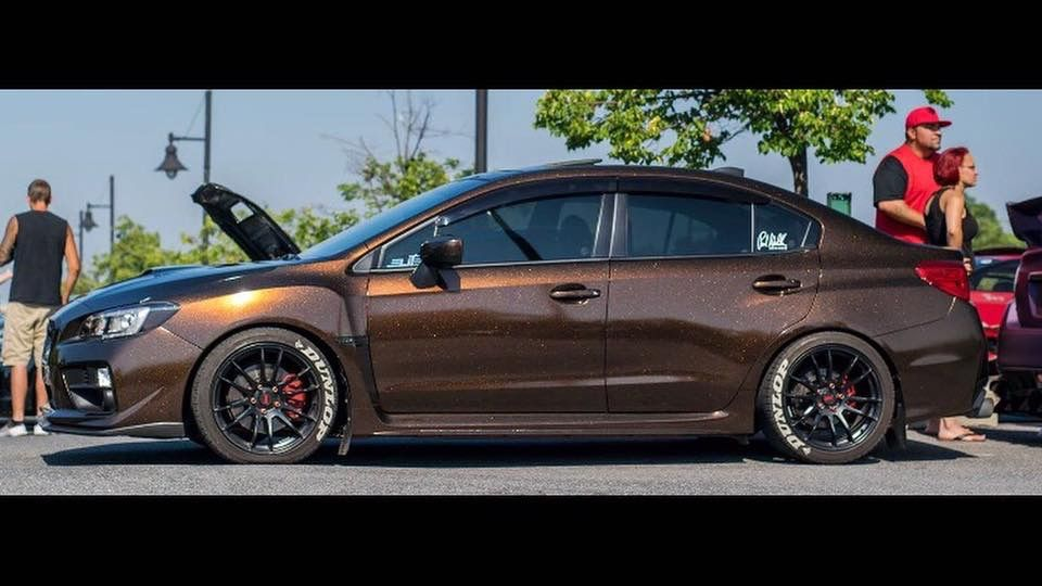 Wrap Techs Subaru Wrx Wrapped In Copper Black Starlight Carson Wrx Subaru Wrx Wrx Subaru