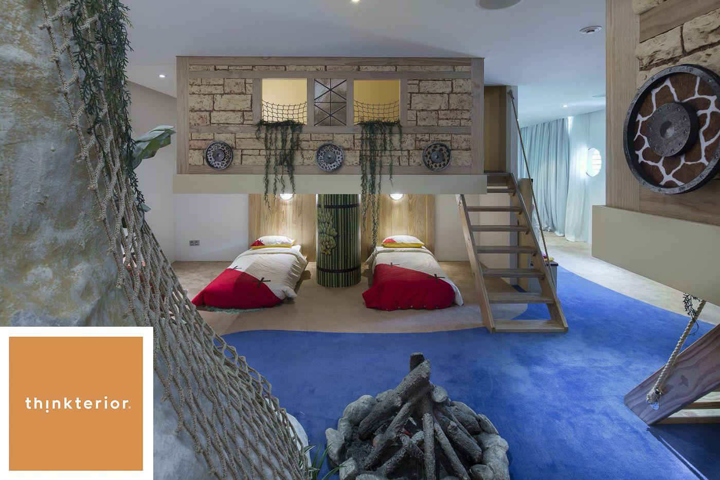 Interactive Bedroom Design Thinkterior Produces Custombespoke Children's Interiors Worldwide
