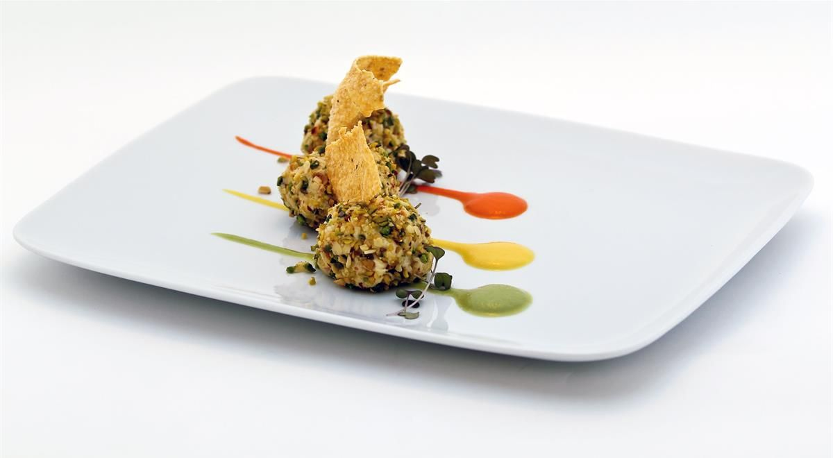 Fine dining cod and greens google search creative for Fine dining food