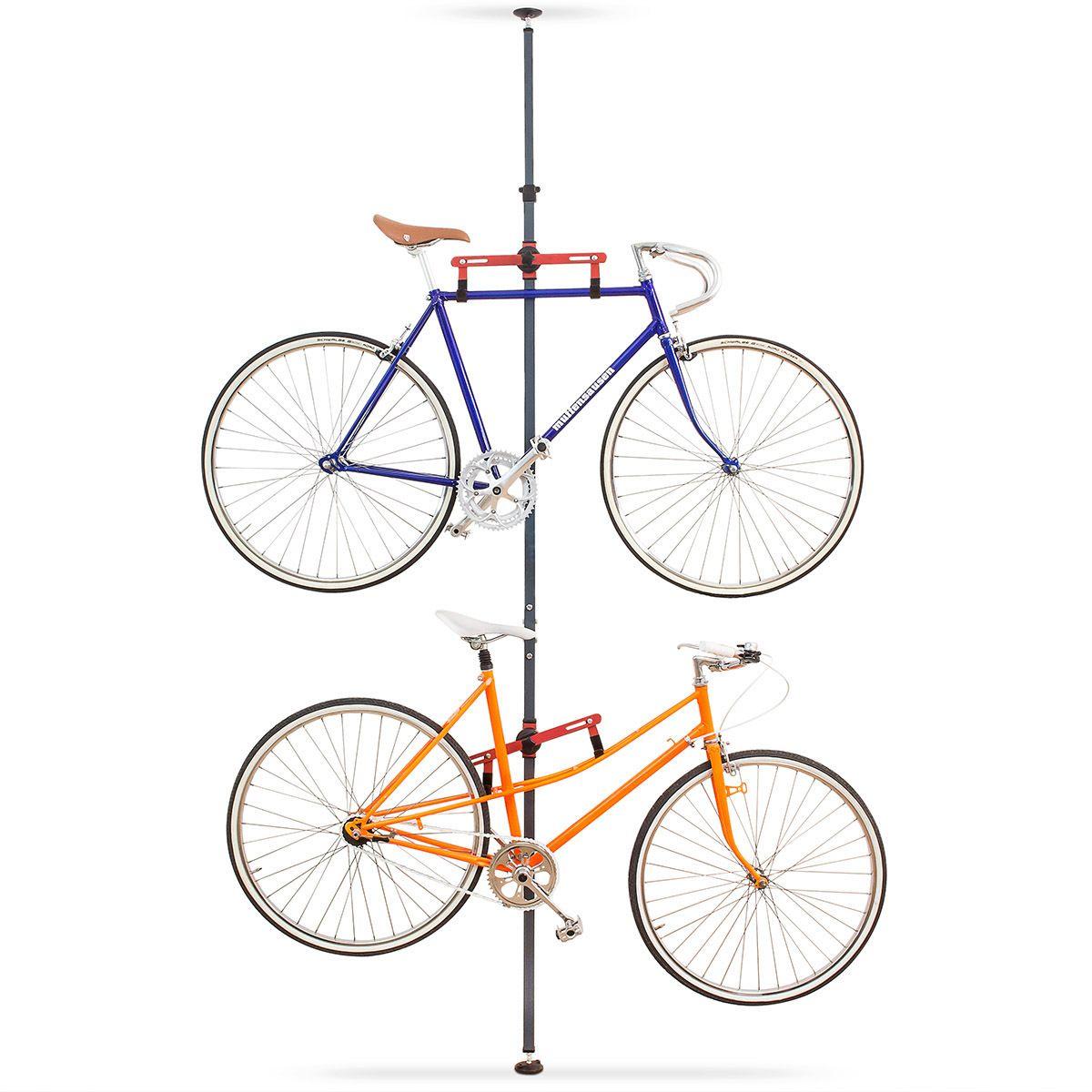 fahrradhalterung f r zwei r der perfekt f r die garage oder eure wohnung relaxdays fahrrad. Black Bedroom Furniture Sets. Home Design Ideas