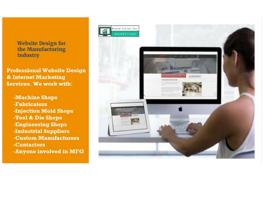 Website design for manufacturing companies, machine shops ...