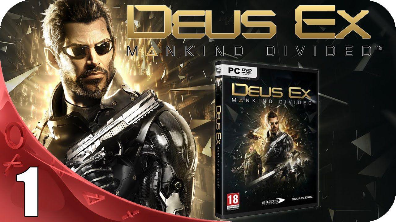 Deus Ex Mankind Divided Walkthrough Espanol Latino Gameplay Parte 1 Deus Ex Espanol Xbox One