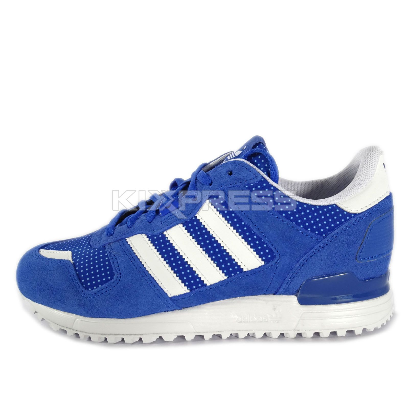 best loved 7ec9c 82b69 Adidas ZX 700 W [M19420] Original Running Blue/White ...