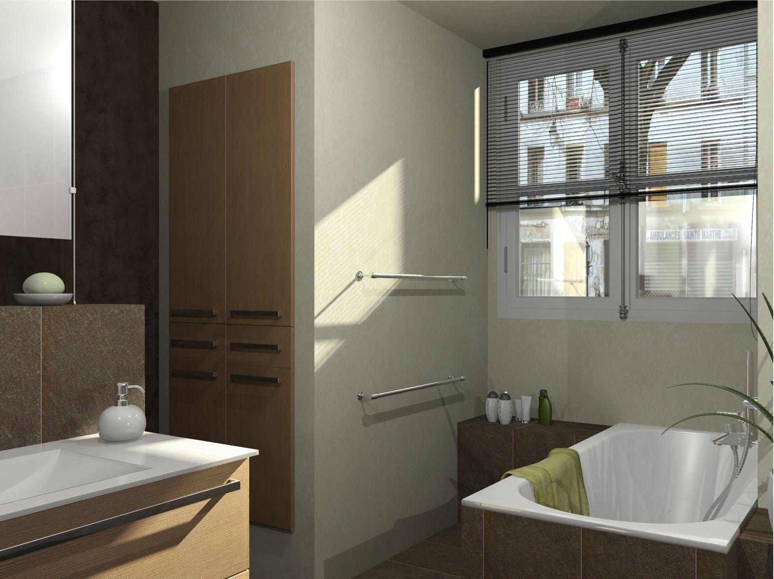 Album Salle De Bains 2012 Architecture Du Bain Salle De Bain Idee Salle De Bain Rangement Maison