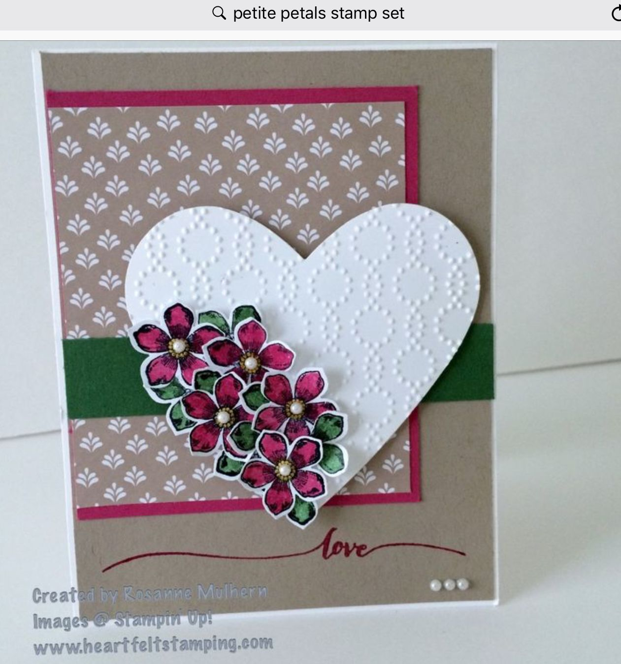 Pin On Petite Petals Ss Punch