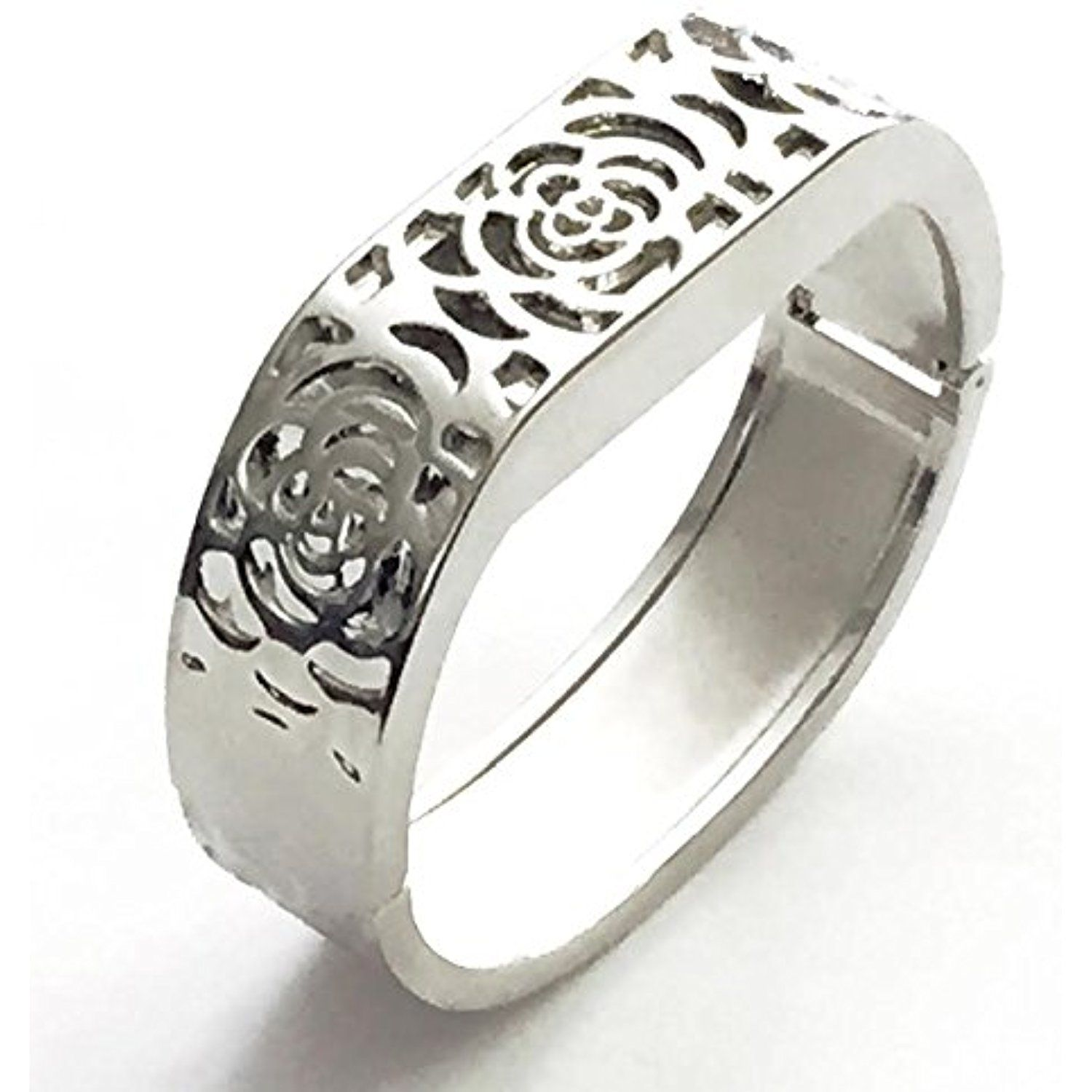 Bsi elegant silver metal replacement jewelry bracelet with unique
