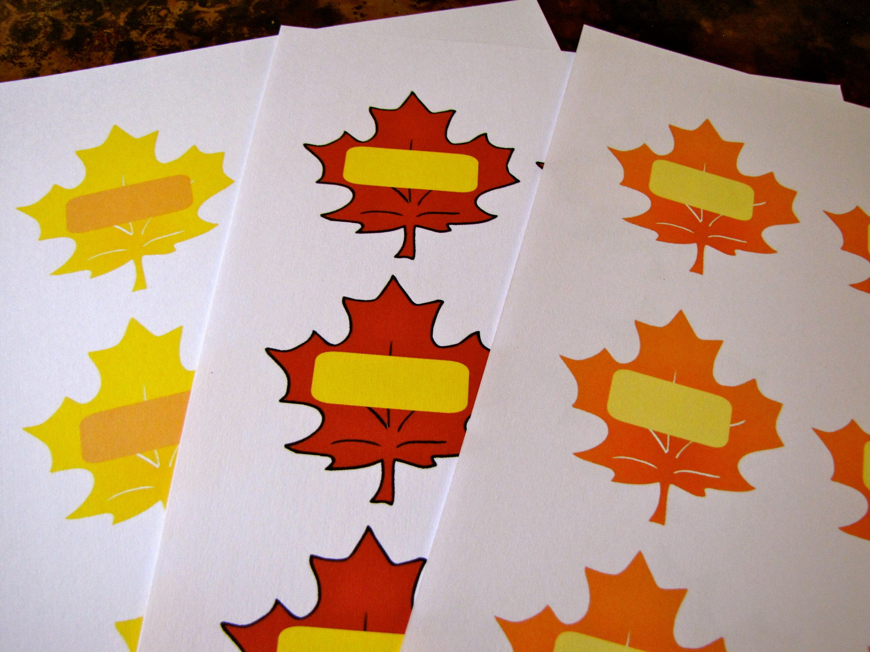Autumn Leaf Printables Free File To Download Ideas For Using Them With Preschoolers
