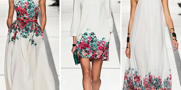 elie saab 4- love the floral detail! I think it would look stunning on a buttery yellow or pastel green as well.
