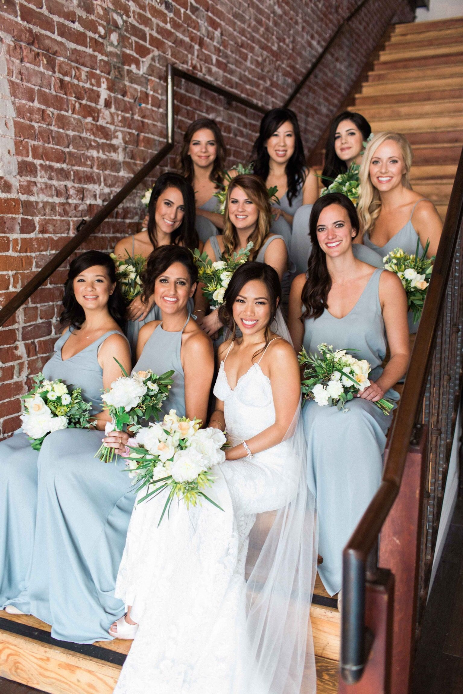 a855a4c8206 Show Me Your Mumu Bridesmaid Dresses in Silver Sage