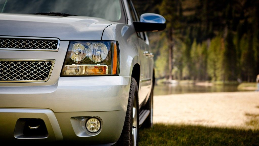 Chevrolet Tahoe Headlight Wallpaper Chevy suburban, 3rd