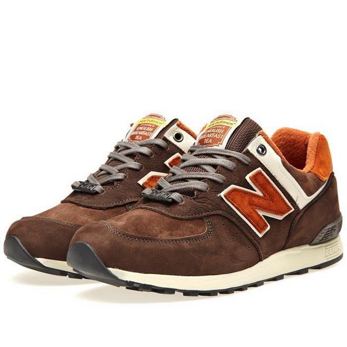 Cheapest New Balance 576 Breakfast Tea Orange Brown Mens Shoes