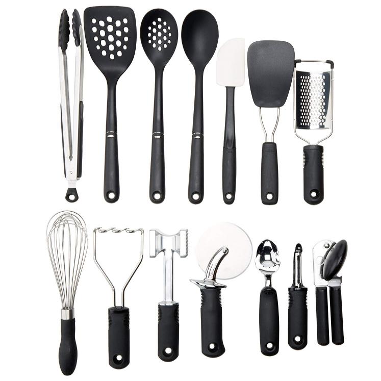 Oxo Good Grips 15 Piece Everyday Kitchen Tool Set Kitchen Tool