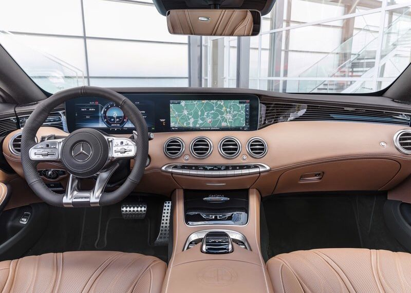 Mercedes-Benz - S65 AMG Coupé - 2018 - interior | Салон | Pinterest ...