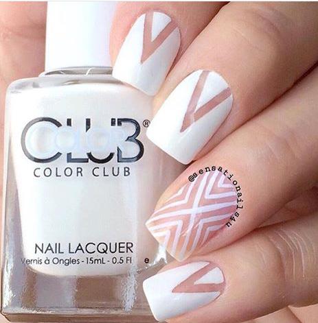 loubna meron  space nails acrylic nail designs nail